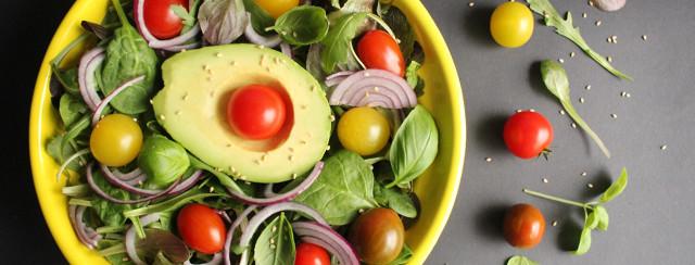 Mediterranean Honey Cilantro Salad image