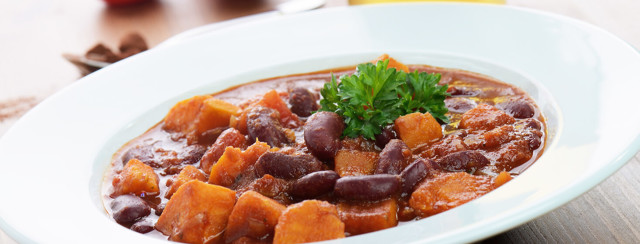 Mediterranean Sweet Potato Chili image