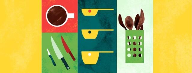 alt=various kitchen items